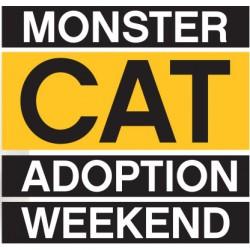 Monster Cat Adoption Weekend!