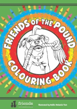 Friends of the Pound Colouring Book