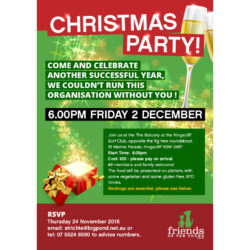 Christmas Party – Book Now!